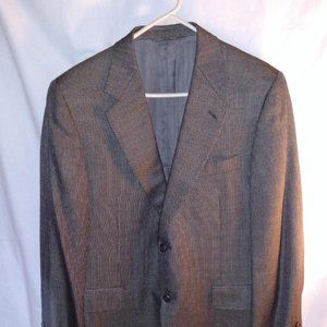 Canali Sport Coat Size US 40R Silk Wool Italy
